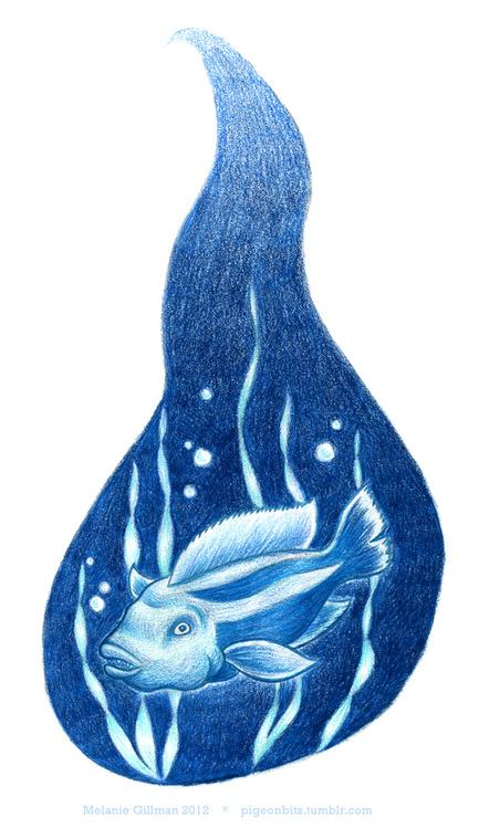 Ahab Illustration