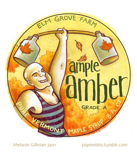 Ample Amber Logo